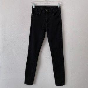 Ksubi Hi & Wasted vintage black stretch denim jean
